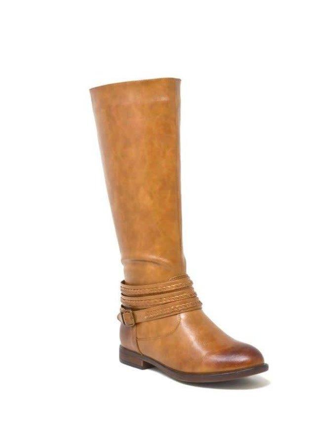 Burnt Tan Boot