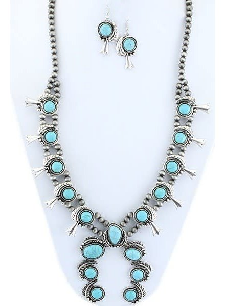 Your Fashion Squash Blossom Necklace
