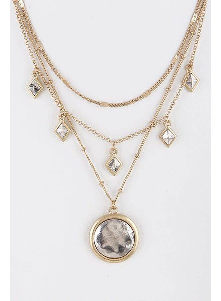 Anzell Antique Style Layered Necklace