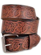 Western Embossed Leatherrette Belt