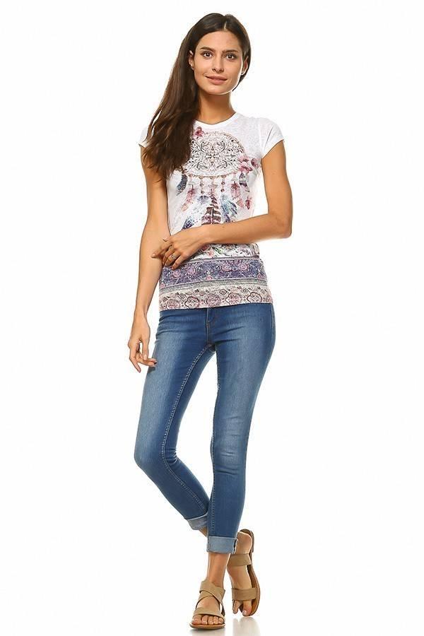 Dream Catcher Floral T-Shirt
