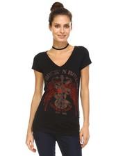 V-Neck Rock & Roll T-Shirt