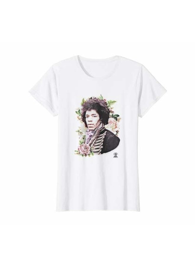 Jimi Hendrix may this be love white T- Shirt