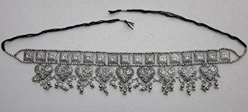 Boho Dangle Hearts Belt