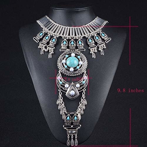Body Necklace - Turquoise
