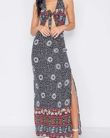 11 Degrees Black Floral Maxi Dress
