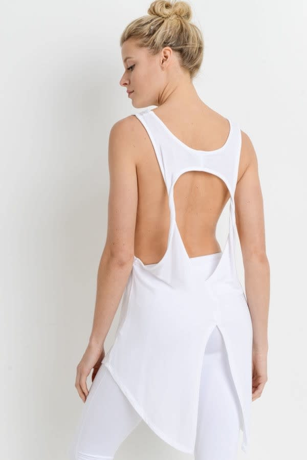 Eclipse Cut-Out Tank Top