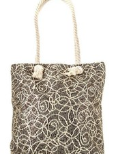 Gold Sequin Detail Tote