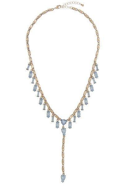 Crystal Gem Framed Stone - Blue