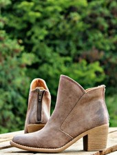 Taupe Short Bootie
