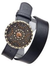 Black Shield Elegant Belt
