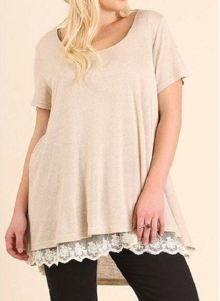 Drop Lace T-Shirt