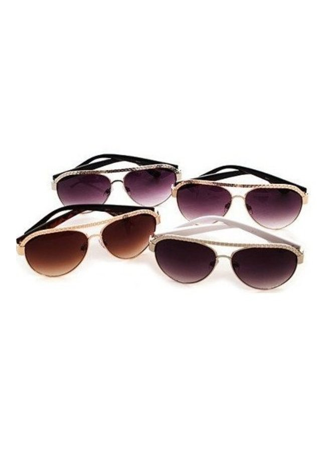 Trendy Aviator Sunglasses