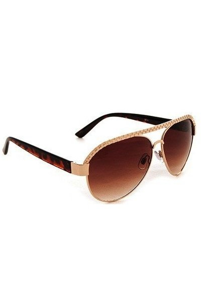 Trendy Aviator Sunglasses