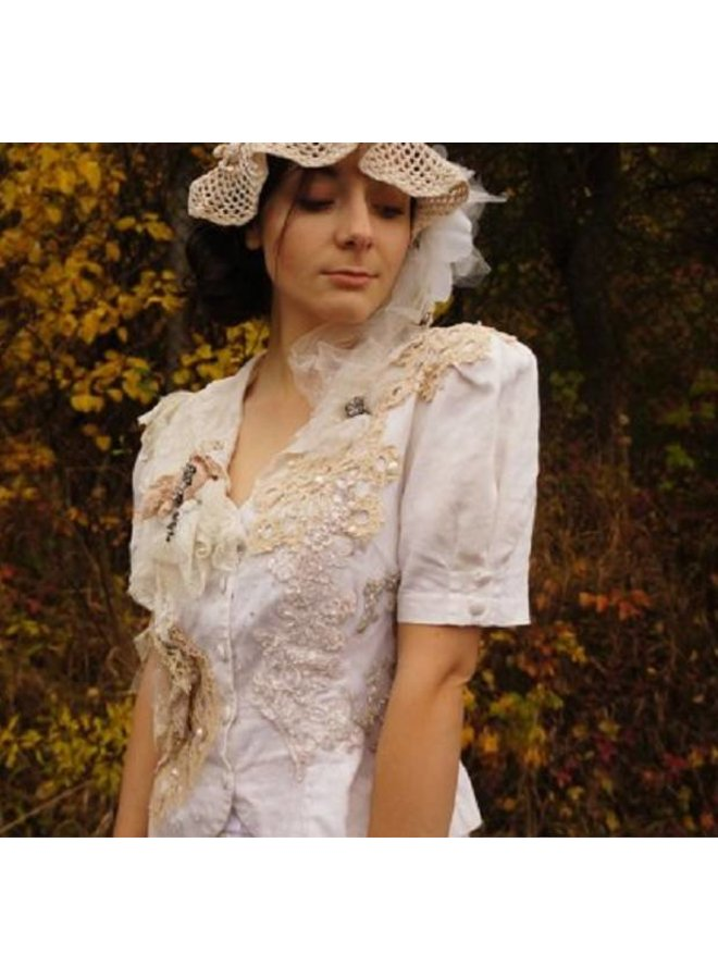 Victorian Retro Boho Bridal Jacket