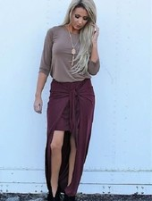 Mini with Maxi Skirt