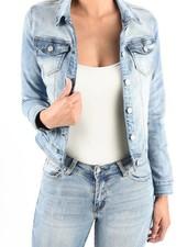 Medium Light Blue Denim Jacket