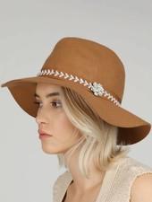 Bohemian Beads Panama Hat