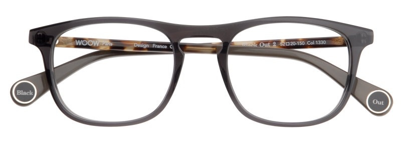 Woow Eyewear Black Out 2-5