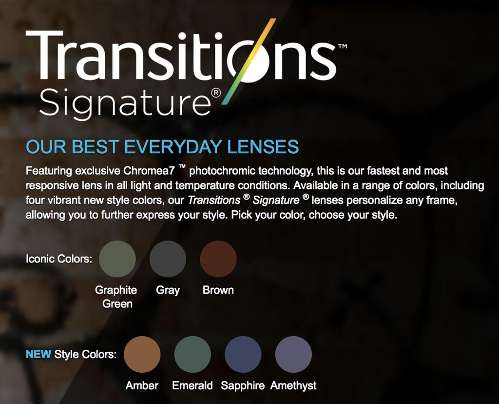 Transitions Lenses for Web Orders-1