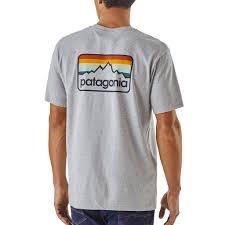 PATAGONIA Patagonia Men's Line Logo Badge Organic Cotton/Poly Responsibili-Tee®