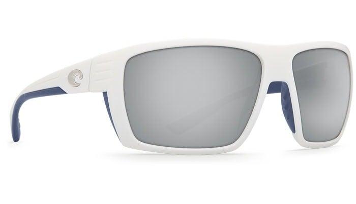 COSTA DEL MAR HAMLIN WHITE (BLUE RUBBER) SILVER MIRROR 580G
