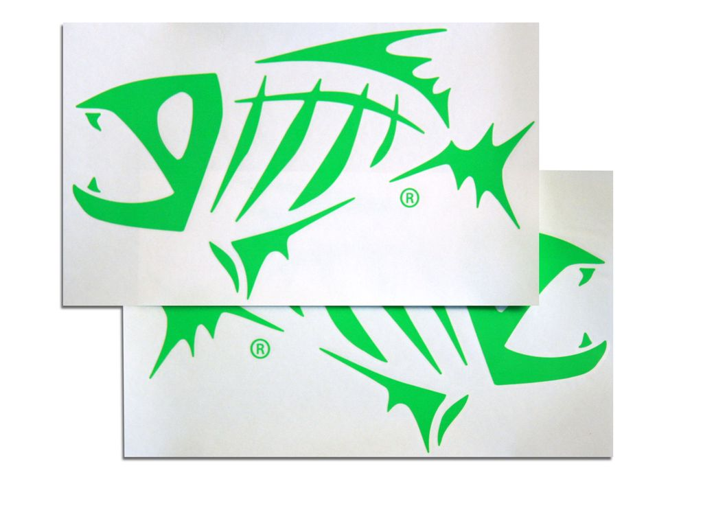 GLOOMIS GLOOMIS STICKER (1)  AND BOAT DECAL (2)