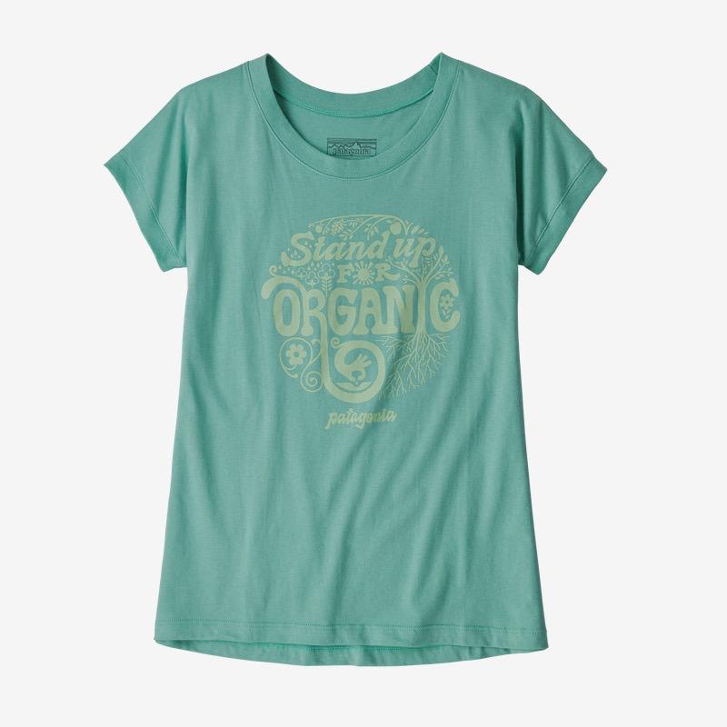 PATAGONIA Girls' Graphic Organic Cotton T-Shirt
