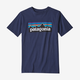 PATAGONIA Patagonia Boys' P-6 Logo Organic Cotton T-Shirt