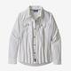 PATAGONIA Women L/S Sol Patrol Shirt White