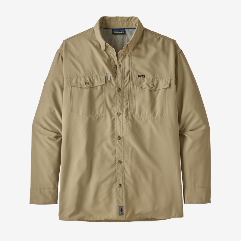 PATAGONIA M's L/S Sol Patrol 2 Shirt Cap Khaki