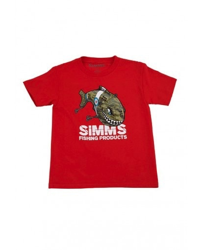 SIMMS KID'S SPITFIRE CRANK BAIT T-SHIRT