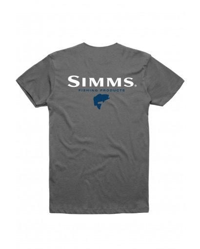 SIMMS SIMMS BASS T-SHIRT