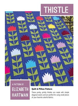 Elizabeth Hartman Thistle Quilt Pattern by Elizabeth Hartman
