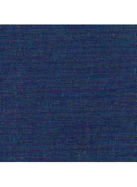 Robert Kaufman Essex Yarn Dyed Metallic Navy