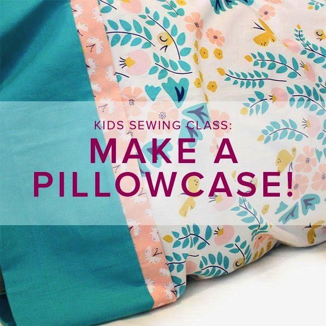 Cath Hall Kids Sewing Class: Make a Pillowcase, Alberta St. Store, Sunday December 2, 2 - 5 pm