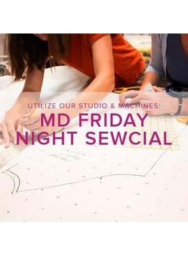 Modern Domestic Friday Night Sewcial, Alberta St. Store, Friday, December 28, 5-8 pm