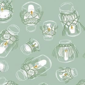 Dear Stella Dear Stella Llama Lands Glowing Jars Lichen