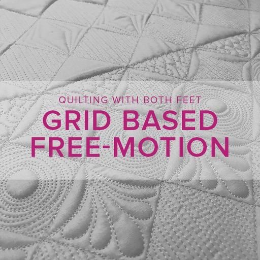 Christina Cameli Grid Based Free-Motion Quilting with Christina Cameli, Alberta St Store, Friday, March 8, 10 - 1 pm
