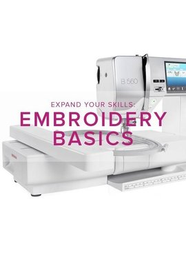 Modern Domestic MyBERNINA: Machine Embroidery Basic, Lake Oswego Store, Thursday, December 13, 11am - 1pm