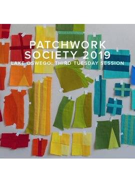 Modern Domestic 2019 Modern Domestic Patchwork Society Annual Membership, Lake Oswego Store, Third Tuesday monthly, 10am - 12pm