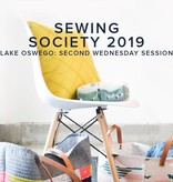 Modern Domestic Modern Domestic Sewing Society Lake Oswego Store Annual Membership, 2019, Second Wednesday monthly, 10 am -12:00 pm