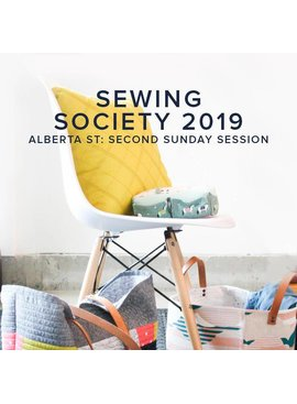 Modern Domestic Modern Domestic Sewing Society Alberta St. Store Annual Membership, 2019, Second Sunday monthly, 10 am -12:00 pm