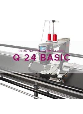 Modern Domestic BERNINA Q24 Class #1: Longarm Basic, Alberta St. Store, Tuesday & Wednesday January 8 & 9, 12:30 - 3 pm