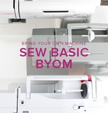 Sew Basic, BYOM (Bring your own machine!) Alberta St. Store, Monday, January 7, 6:00 - 8:30 pm