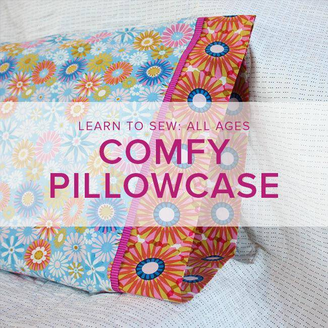 Karin Dejan Learn to Sew: Pillowcase ALL AGES, Lake Oswego Store, Tuesday, December 11, 6-9 pm