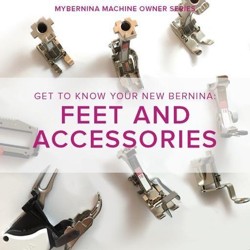 Modern Domestic MyBERNINA: Class #2 Feet & Accessories, Lake Oswego Store, Monday, January 14, 10am-12pm