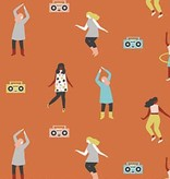 FIGO Perfect Day by Naomi Wilkinson Dance Party Orange