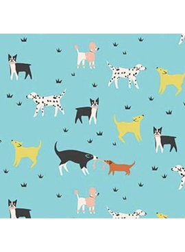 FIGO Perfect Day by Naomi Wilkinson Dog Park Blue