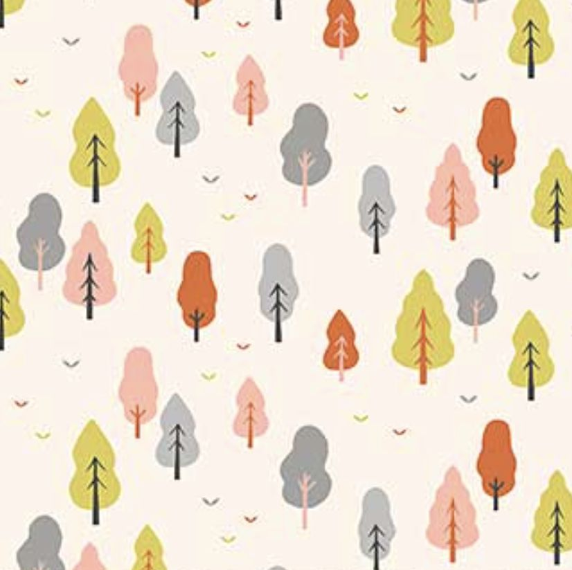 FIGO Perfect Day by Naomi Wilkinson Trees Cream